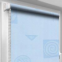 Рулонная штора MRD Икеа 1802 Голубой
