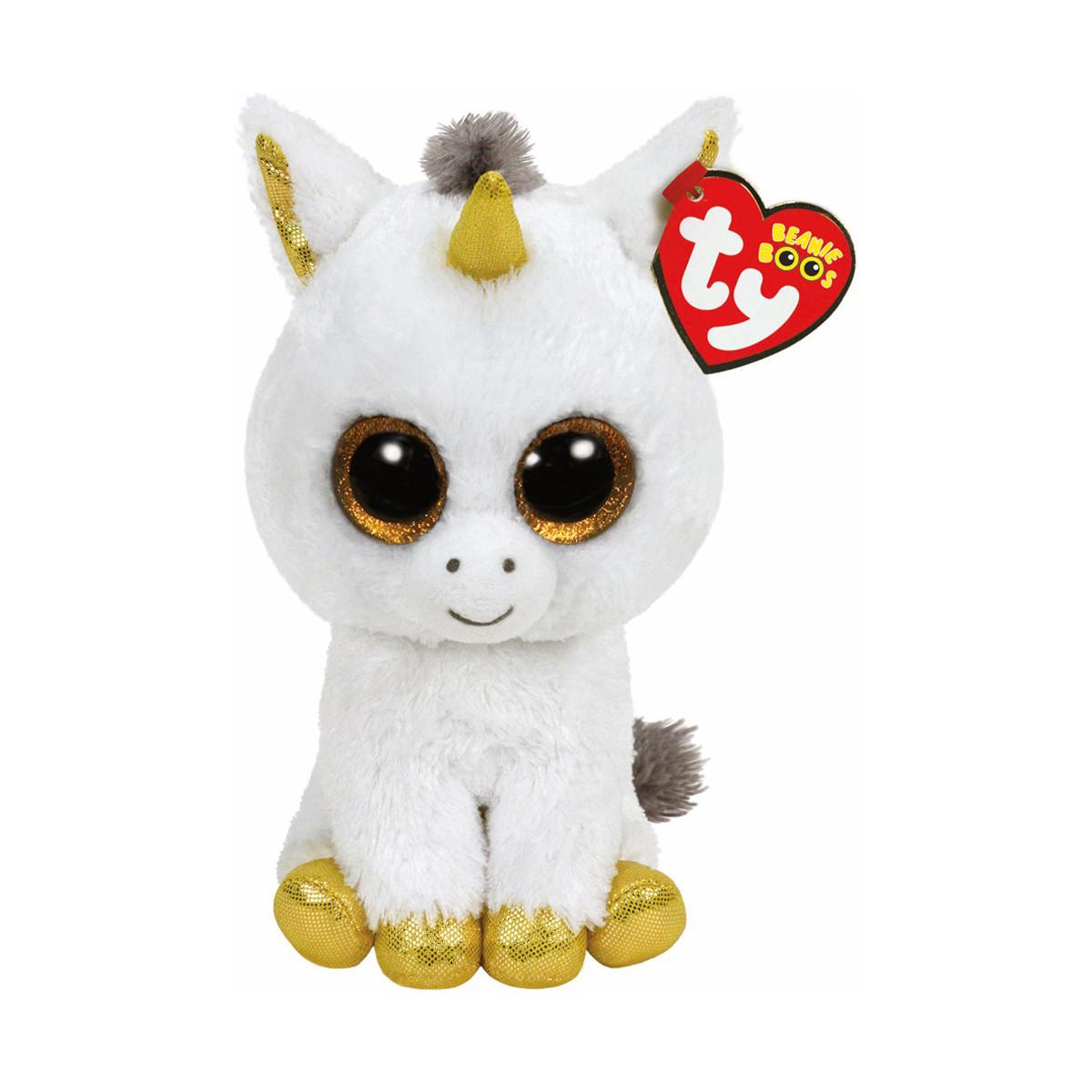 """TY Beanie Boo's 36825 Білий єдиноріг """"Pegasus"""" 25см"""
