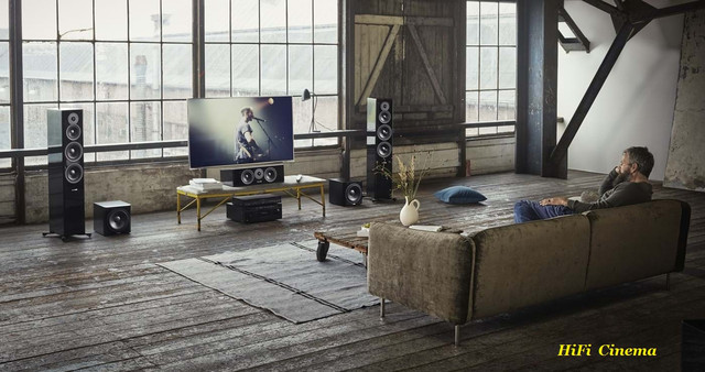 Dynaudio Evoke 50 Floor-Standing Home Cinema System