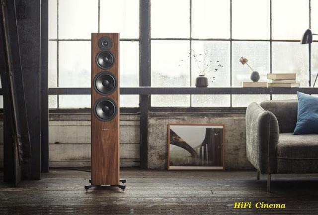 Dynaudio Evoke 50 Walnut Floor-Standing Speaker - life style