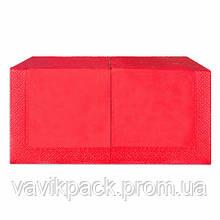 """Салфетка  """"Alsupak'  33 х 33 cм 200 шт (Красная) двухслойная"""