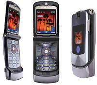 Телефон раскладушка Motorola RAZR V3   1 сим,2,25 дюйма, 680 мА\ч. Металл!, фото 1