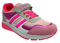 Текстильные кроссовки 73SVETLOROSE р. 34  Светло розовый