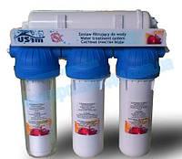 Система очистки воды с капилярной мембраной (ультрафильтрация) на базе корпусов EMI FS-3 EMI Kap