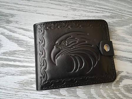 Портмоне мужское черный орел, фото 2
