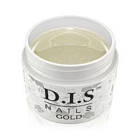 Однофазный гель D.I.S Nails Gold (золото)  30 гр.