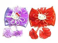 Набор резинок для волос, Кити, цвета в ассортименте, диаметр резинок 6 см (6 шт)