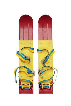 Лыжи - мини детские пластик 42 см, фото 2