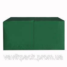 """Салфетка  """"Alsupak'  33 х 33 cм 200 шт (Зелёная) двухслойная"""