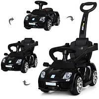 Детский электромобиль-толокар Машина «Porshe» M 3592L-2 (Черный)