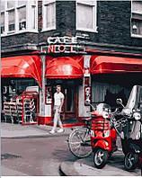 Картина по номерам Уличное кафе в Париже, 40х50 см, премиум упаковка