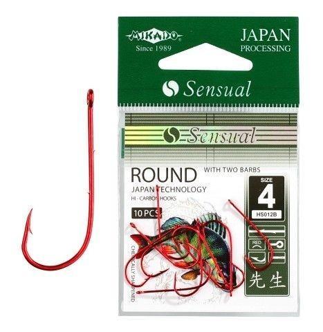 Крючок Mikado Sensual Round Red 10 шт