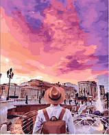 Картина по номерам Это розовое небо, 40х50 см, премиум упаковка