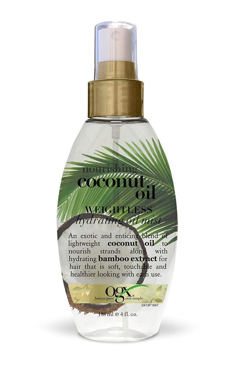 Увлажняющий мист для волос с кокосовым маслом OGX Nourishing Coconut Oil Weightless Hydrating Mist