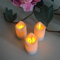"""Электронные свечи """"чайные"""" с имитацией пламени 3W44 набор"""