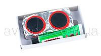 Набор латок Red Sun RS0024 для ремонта авто и вело камер