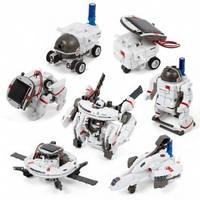 DIY CIC 21-641 Космічний флот 7 в 1, конструктор для розвитку дітей