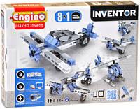 Конструктор Engino Inventor Літаки 8 в 1, для розвитку дітей