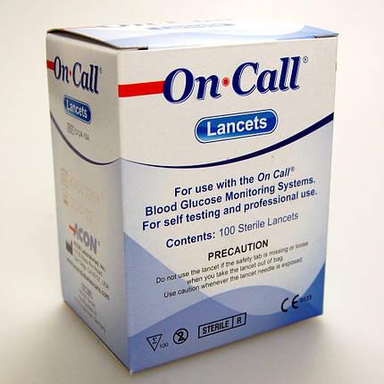 Ланцеты On Call #100 - Онколл ланцет, фото 2