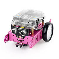 Makeblock mBot 1.1 Bluetooth-версія, рожевий, конструктор  для розвитку дітей