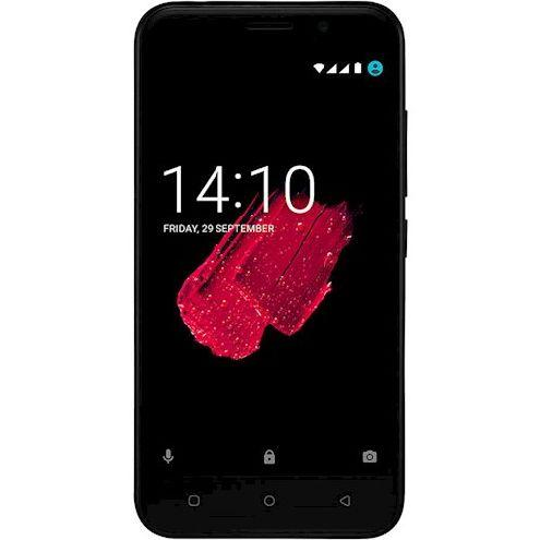 Смартфон на 2 сим карты 5 дюймов 4 ядра 4G 1/16Gb Prestigio Grace M5 LTE черный
