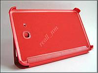 Красный чехол-книжка №3 Book Cover для Samsung Galaxy Tab 3 7.0 Lite T110 T111 T113 T116, фото 1