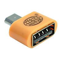 Отг адаптер переходник для флеш и периферии Remax RA-OTG