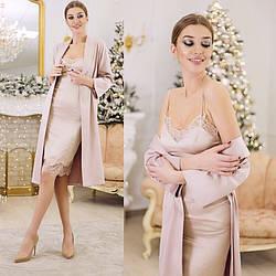 Платье комбинация из шелка