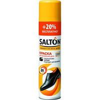 Краска для изделий из гладкой кожи «Salton» Черный 300мл