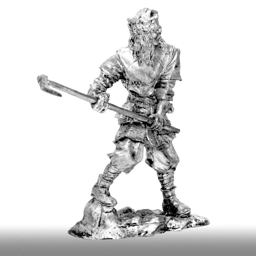Викинг с боевым топором