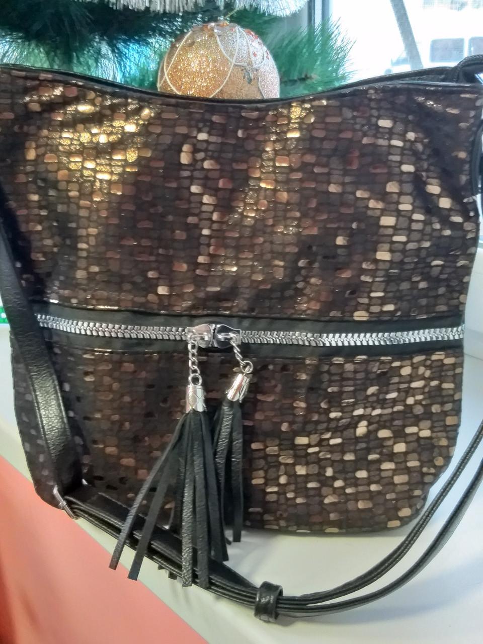 Женская красивая сумочка(лазерное напыление)