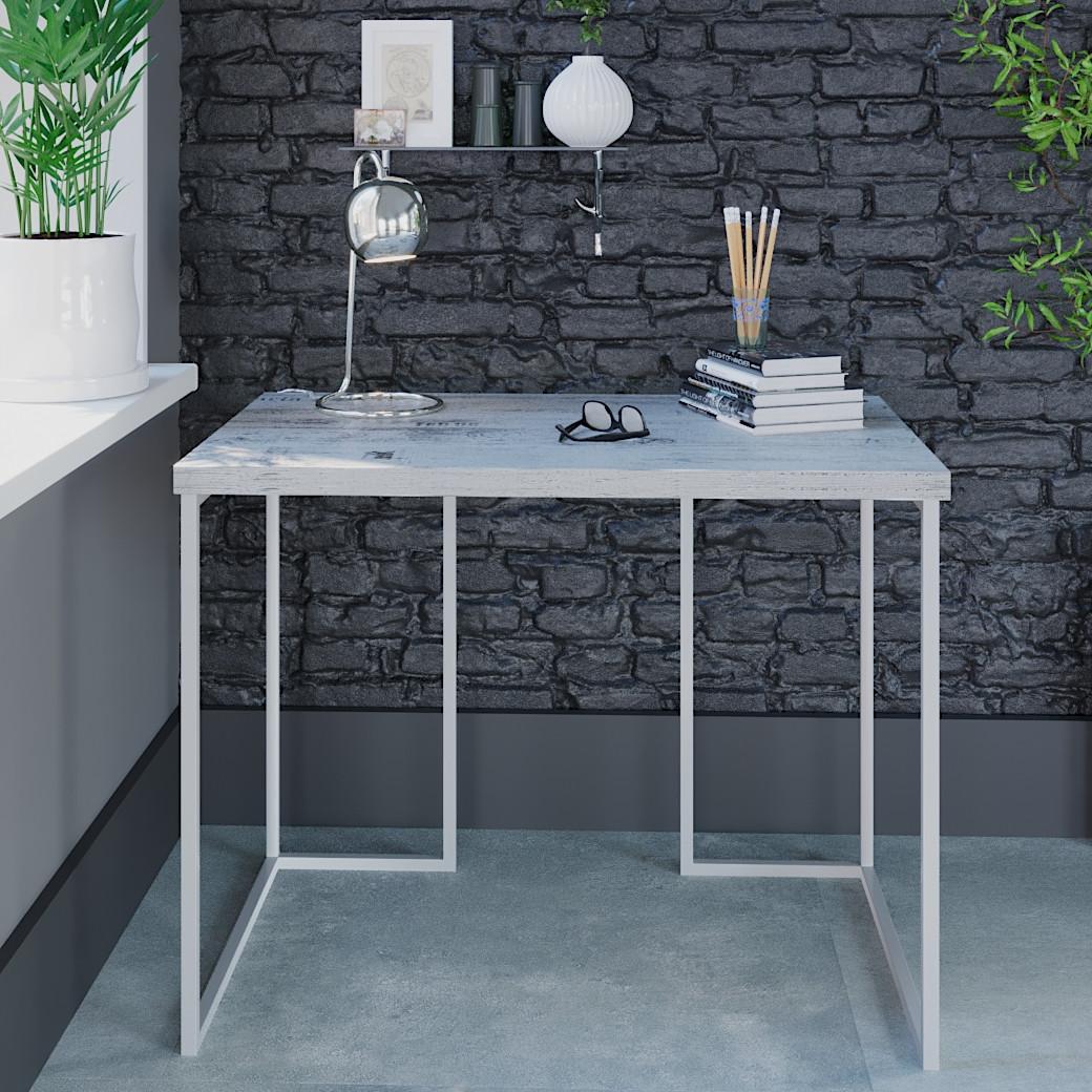 """Комп'ютерний стіл Вега 1 Білий"""" 755x1000x600 мм"""