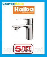Смеситель для умывальника Haiba Asio 001