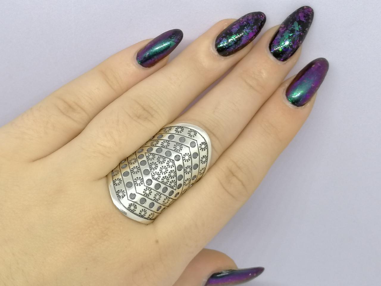 Серебряное кольцо. Артикул 3814 18