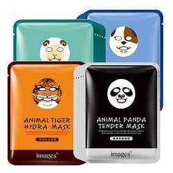 Тканевая маска для лица Images Мордочки животных Animal Mask Sheep 30 мл