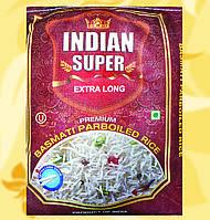 Рис, Indian Super Extra Long, пропаренный, 5кг, Во