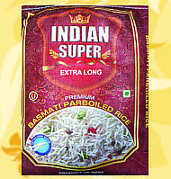 Рис, Indian Super Extra Long, пропарений, 5кг, Во
