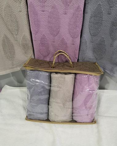Набор полотенец банных махровых (3 шт), фото 2