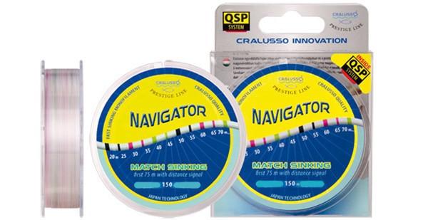 Леска Cralusso Prestige Line Navigator Match Sinking 150m 0.18mm 3.31kg QSP (2076)