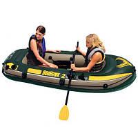 Лодка надувная двухместная Seahawk 2 Set Intex 68346