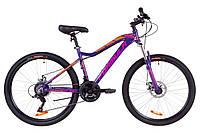 """Велосипед 26"""" Formula MYSTIQUE 1.0 AM 14G DD Al 2019 (фиолетово-оранжевый)"""