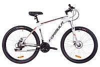 """Велосипед 27.5"""" Formula THOR 1.0 AM 14G DD Al 2019 (бело-черно-красный)"""