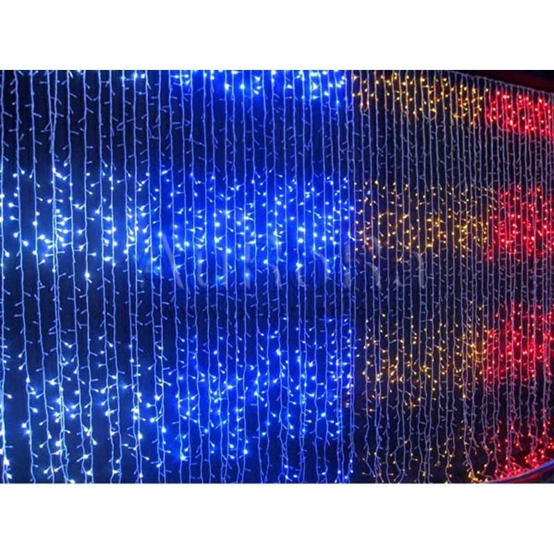 Новогодняя разноцветная LED-гирлянда Водопад 480 LED