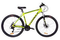 """Велосипед 29"""" Formula THOR 2.0 AM 14G DD Al 2019 (салатно-черный с бирюзовым (м))"""