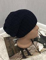 Женская зимняя шапка на флисе 002D/02