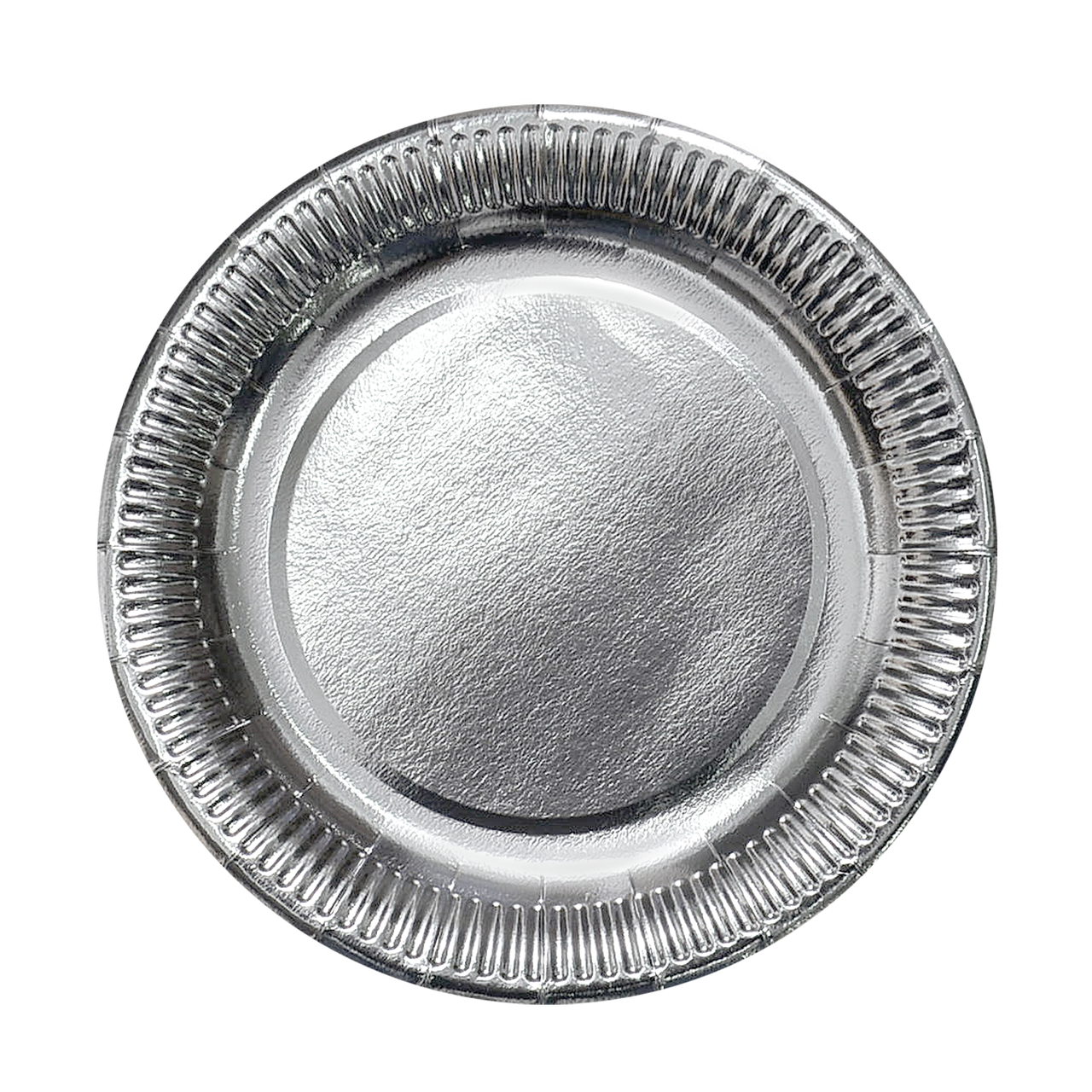 Тарелка картонная Серебро ХТ23 100шт/уп (1ящ/8уп/800шт)