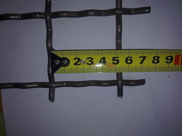 Сетка канилированная 50*50 диаметр проволоки 5.0 мм оцинкованная