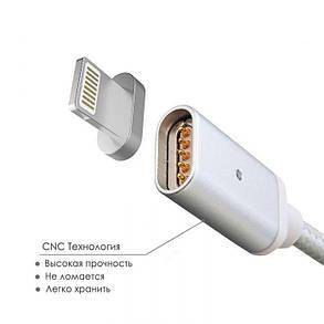 Кабель магнитный LIGHTNING для Iphone Hoco 1,2 метра Data cable Magnetic data, фото 2