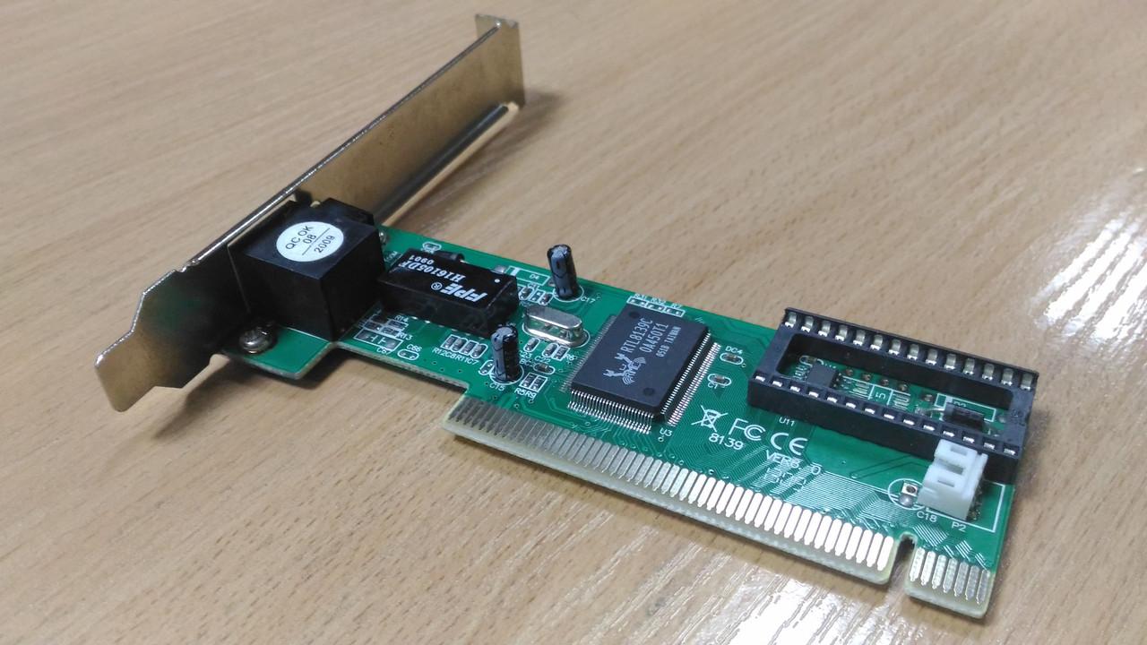 Сетевая карта, адаптер GEMBIRD NIC-R1