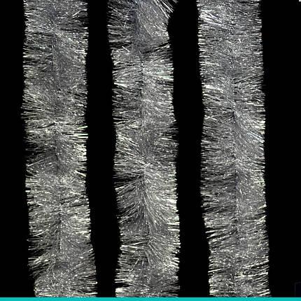 Гирлянда новогодняя серебряная (3м), фото 2